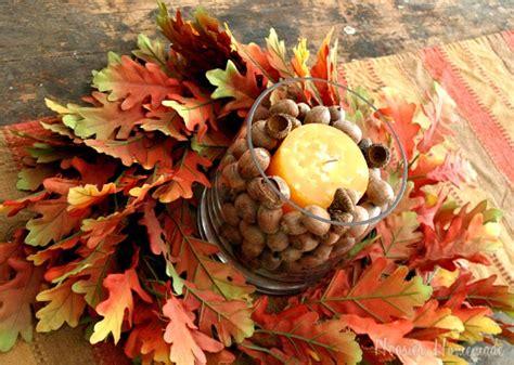 Easy Fall Centerpiece Hoosier Homemade