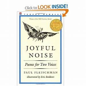 Amy on Literacy: Joyful Noise Poems for Two Voices by Paul ...