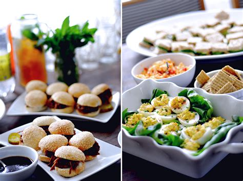 budget cuisine photo baby shower finger foods image