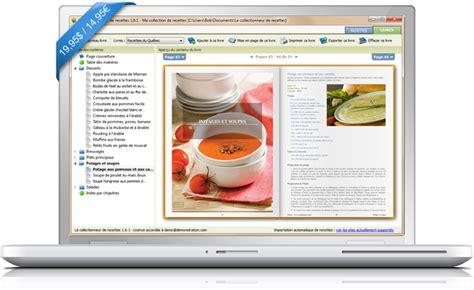 recettes de cuisine gratuite le collectionneur de recettes logiciel de recettes et