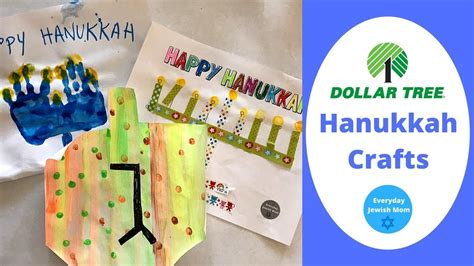 dollar tree hanukkah crafts diy chanukah preschool 579   maxresdefault