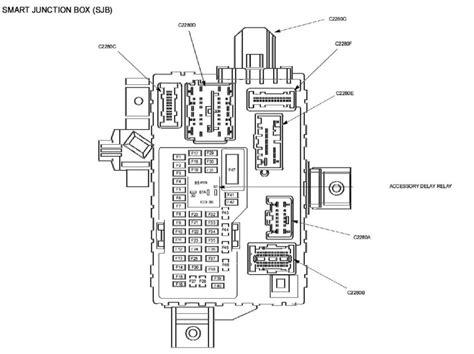 2010 Mustang Smart Junction Fuse Box 2010 ford mustang fuse diagram ricks free auto repair