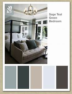 Sage cream oil gray and teal green color palette for Bedroom color palettes