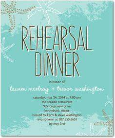 bluewater dinner on pinterest starfish rehearsal With wedding invitations bluewater