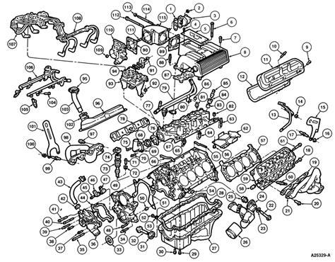 Ford Ranger 4 0 Engine Exploded Diagram by Ford Explorer Engine Diagram Egr Valve Problem On 1996
