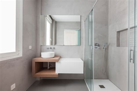 sleek modern bathroom designs youll fall  love