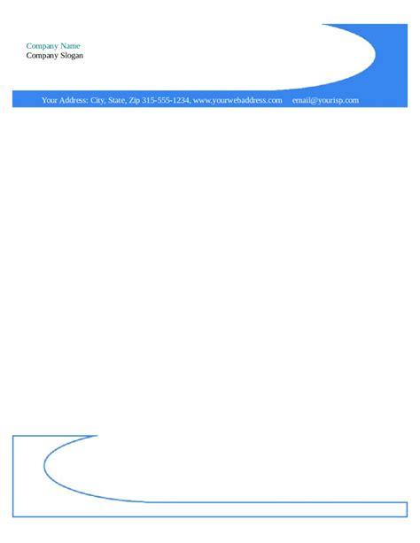 free company letterhead template free company letterhead template 3 best and professional templates