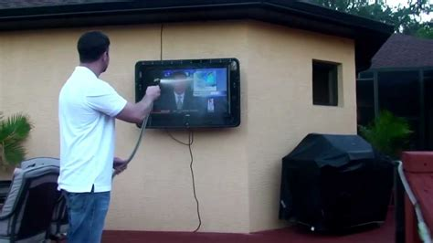 waterproof outdoor tv cabinet water proof outdoor tv cabinet enclosure case the tv