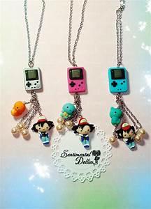 GameBoy Pokemon Necklace