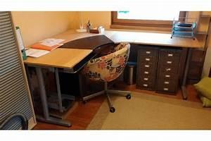 Ikea schreibtisch buche individuell anpassbar in gro for Schreibtisch buche ikea