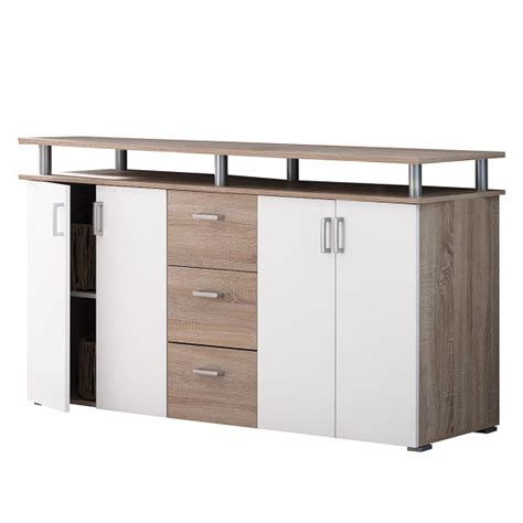 sonoma eiche highboard jetzt bei home24 sideboard mooved home24