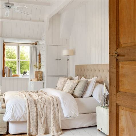dormitorios rusticos blanco roto