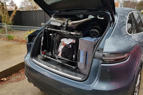 Cayenne Cargo Space by Porsche Cayenne 2018 Review Family Test Carsguide