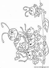 Coloring Pages Bugs Printable Ministerofbeans Bookmark Title Read sketch template