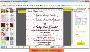 Wedding card maker software to make invitation cards to for Wedding invitation maker program