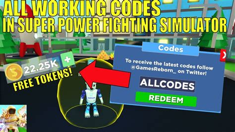 When other players try to make money during the game, these codes make it easy for you and you can reach what you need earlier with leaving others your behind. *ALL* WORKING CODES IN SUPER POWER FIGHTING SIMULATOR! || Roblox - YouTube