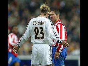 David beckham vs Atlético Madrid II II Real Madrid 2003 ...