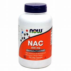 Nac 600 Mg By Now Foods