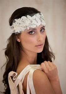 Ivory Bridal Hair Accessories Headband Bridal Tiara