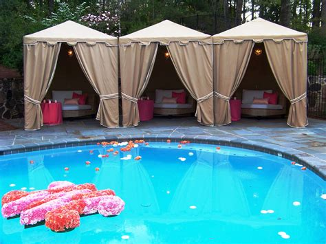 pool decorations 20 pool wedding decoration ideas to try on your wedding