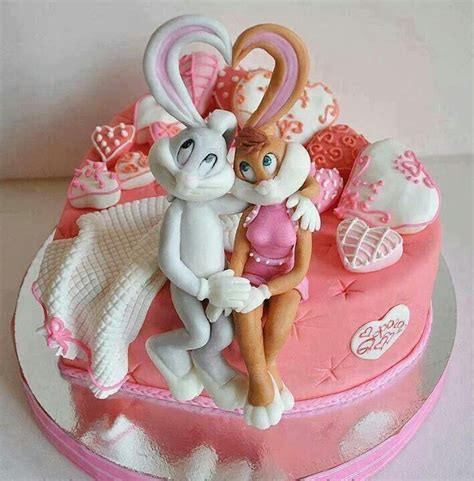I Love Cake Decorating by Bugs Bunny Cake Dessert Ideas Pinterest Bunny Cakes