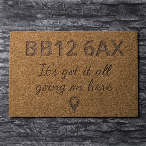 personalised doormat uk personalised outdoor doormat location gettingpersonal