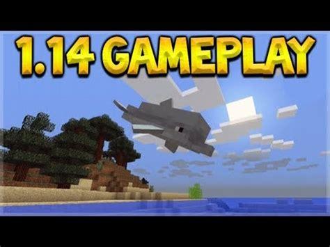 minecraft  gameplay  aquatic update dolphins