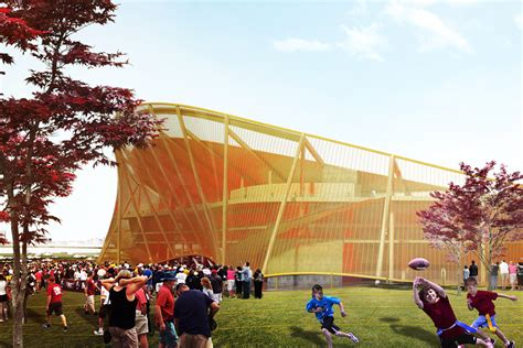 washington redskins stadium architect magazine bjarke