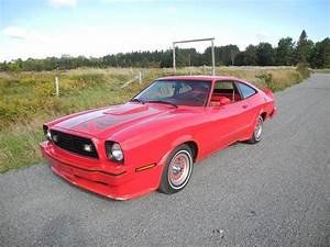 Bright Red 1978 Ford Mustang