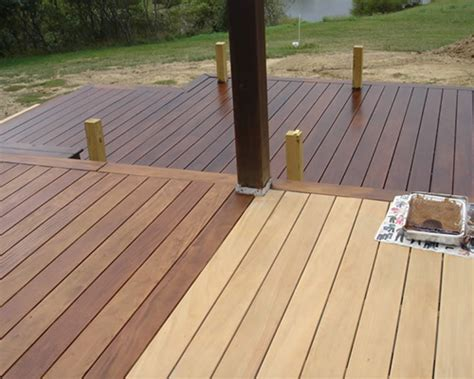 buy champagne ipe wood decking   ipe hardwood