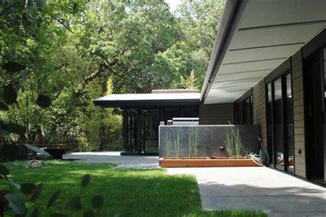 mid century modern eichler esque remodel patio contemporary patio san francisco by hart