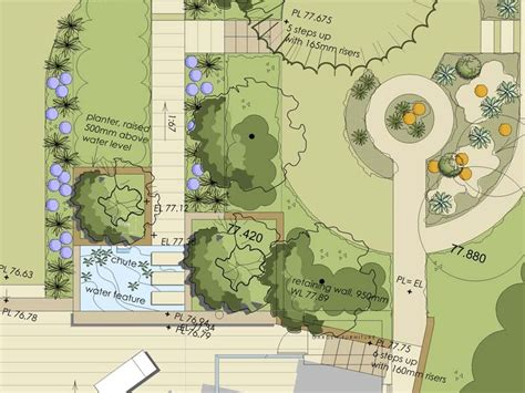 how to read landscape plans exle design plans portfolio creative landscape co paving berkshire garden design