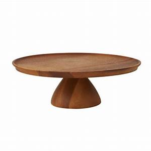 Acacia Wooden Cake Stand