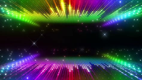 led disco wall stock footage video  royalty