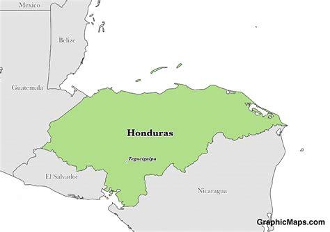 hondurass languages graphicmapscom