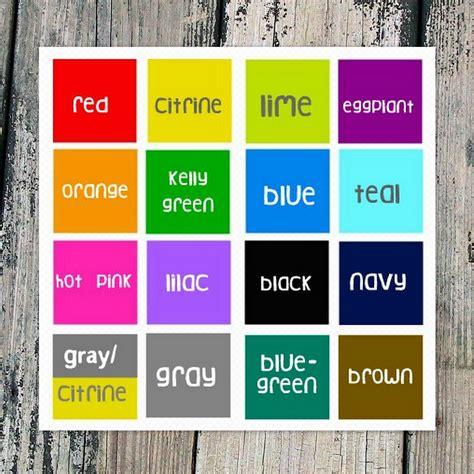 Unique Color Names Florabaccom