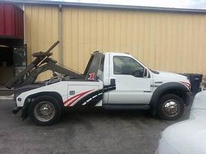 2006 Ford F450 Self Loader Vulcan 810 Wrecker Tow Truck