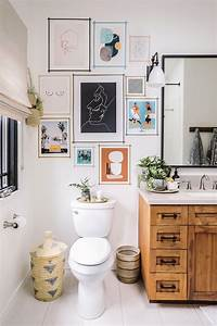 15, Bathrooms, With, Beautiful, Wall, Decor, That, Will, Inspire, A