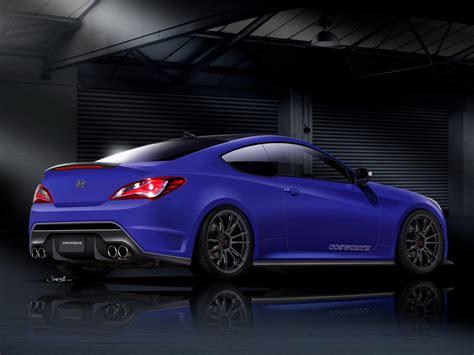 Cosworth Hyundai Genesis Coupe Teased for SEMA 2012 - autoevolution