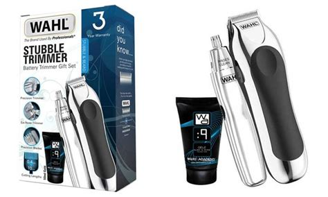 Wahl Stubble Trimmer Gift Set