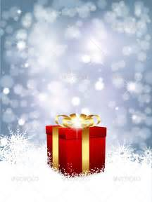 christmas gift background graphicriver