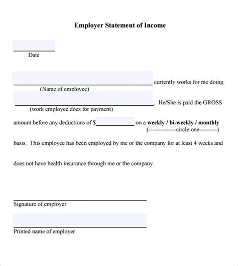 sample income verification letter   documents