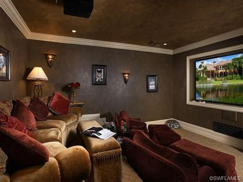 posh home theater room chinaberry way in grey oaks