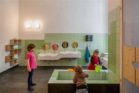 Beautiful Day Care Interior In Simple And Natural Design