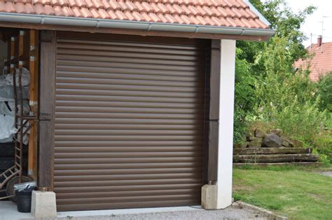 porte de garage rideau volet roulant pour porte de garage pas cher