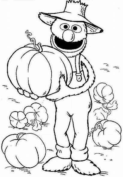 Coloring Grover Sesame Street Colouring Cartoon Halloween
