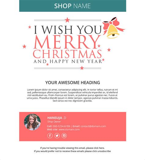 year email templates   sample templates