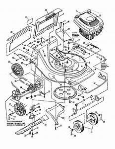 Deck  Engine Diagram  U0026 Parts List For Model Clp21650rv