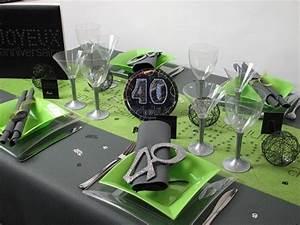 Deco Table Anniversaire Femme : deco de table pour anniversaire homme ~ Melissatoandfro.com Idées de Décoration