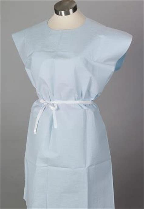 "Gowns, Disposable Paper Gowns 30""x42"", Standard, Blue 50"